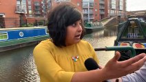 Navigating A Canal With Saima From Boatel Birmingham!